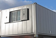 Installing a container home/1